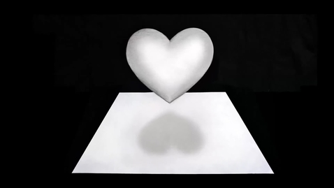 Thumbnail for entry How to draw a 3D Floating Heart