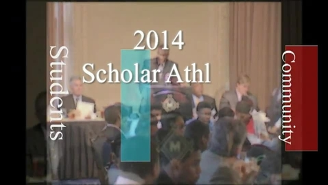 Thumbnail for entry 2014 SLPS Scholar Athlete Luncheon