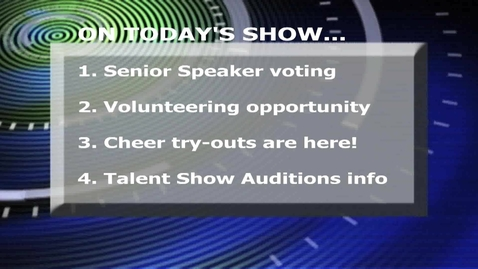 Thumbnail for entry 4.18.2012 KCHS Broadcast