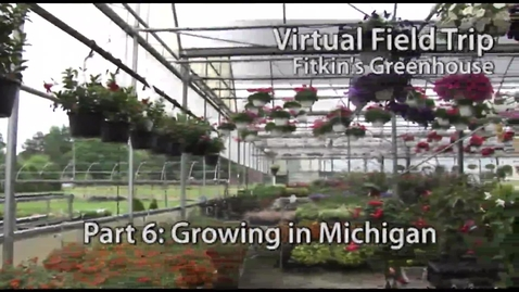 Thumbnail for entry Advice On Growing Plants - Fitkin's Greenhouse Virtual Field Trip