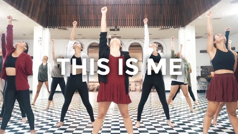 Thumbnail for entry This Is Me - The Greatest Showman, Keala Settle (Dance Video)   @besperon Choreography