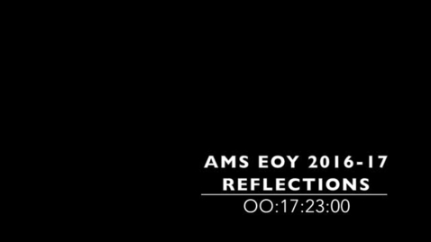 Thumbnail for entry End of the Year Video 2016-17
