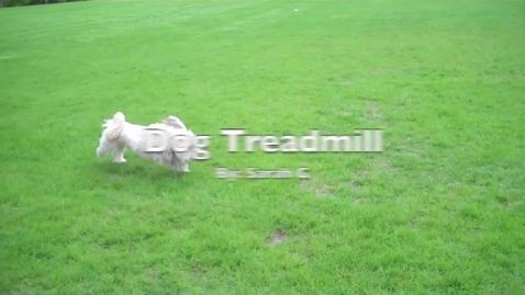 Thumbnail for entry Sarahgl Dog Treadmill