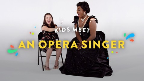 Thumbnail for entry Kids Meet an Opera Singer | Kids Meet | HiHo Kids