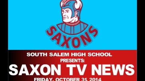 Thumbnail for entry Saxon TV 103114