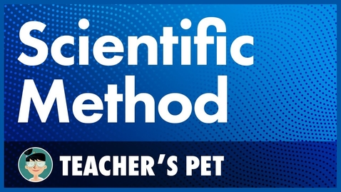 Thumbnail for entry The scientific method
