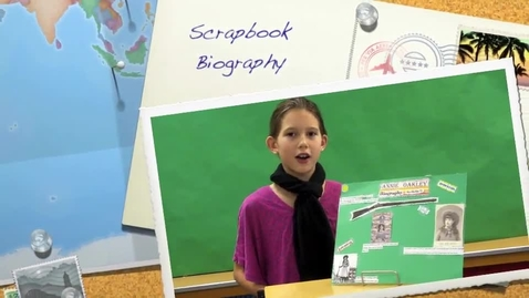 Thumbnail for entry Bella's Scrapbook Biography Book Report