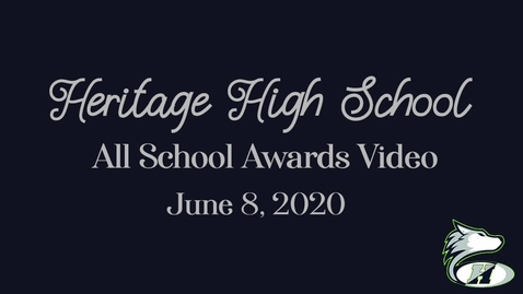 Thumbnail for entry 2019-2020 All School Awards Video