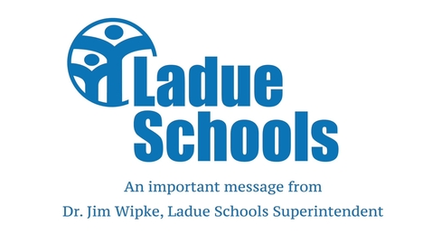 Thumbnail for entry Distance Learning Plan - Message from Dr. Jim Wipke