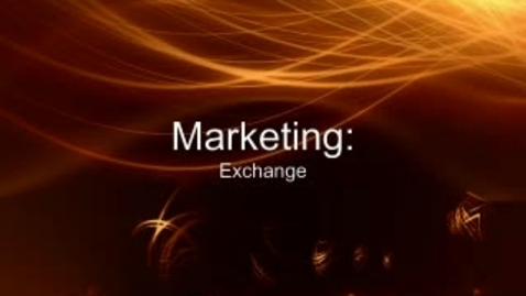 Thumbnail for entry Exchange to Added Value