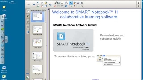 Thumbnail for entry Smart Notebook11 - 4. Actions II