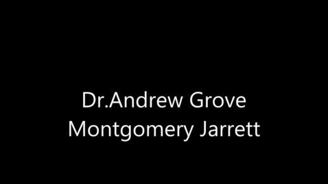 Thumbnail for entry Dr. Andrew Grove - Engineer