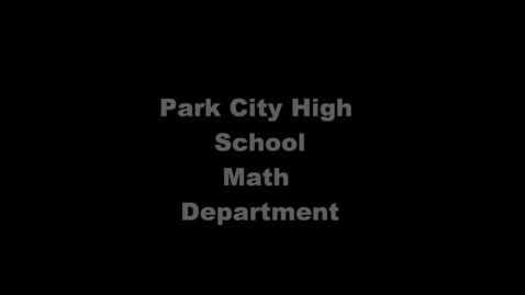 Thumbnail for entry Math Channel Title Page