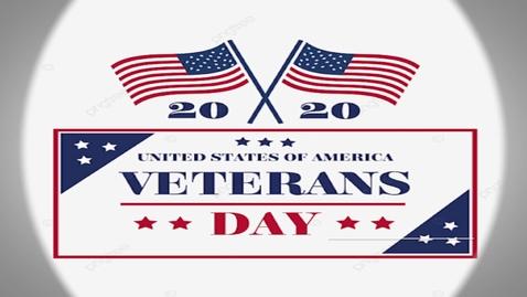 Thumbnail for entry News For 74 - Veterans Day 2020