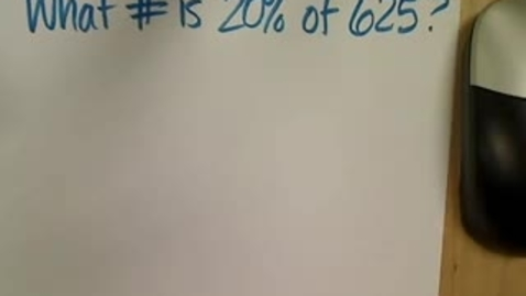 Thumbnail for entry Percent Proportion 2