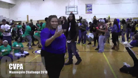 Thumbnail for entry CVPA Mannequin Challenge 2016