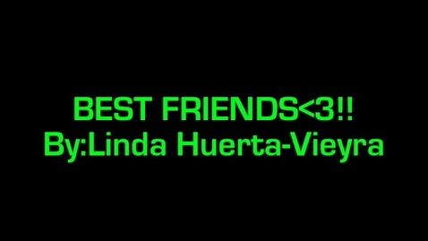 Thumbnail for entry best friends