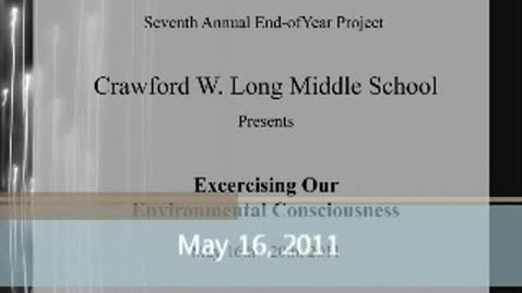 Thumbnail for entry Exercising Our Environmental Consciousness