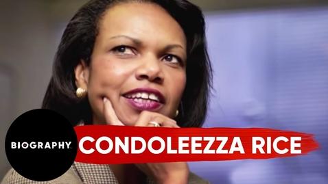 Thumbnail for entry Condoleezza Rice - Government Official | Mini Bio | BIO