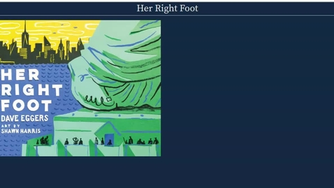 Thumbnail for entry Her_Right_Foot__by_Dave_Eggers