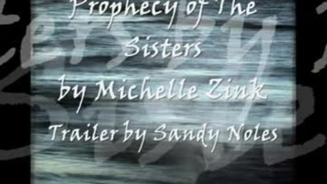 Thumbnail for entry PROPHECY OF THE SISTERS, by Michelle Zink
