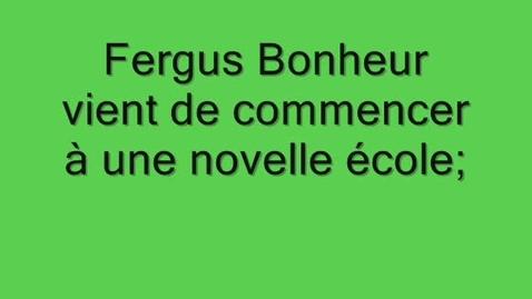 Thumbnail for entry 44 Fergus Bonheur