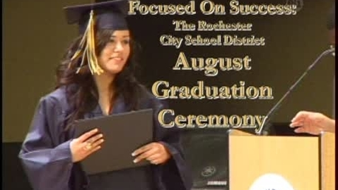 Thumbnail for entry Summer Graduation Ceremony 2009 - Rochester City School District