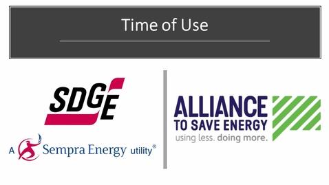 Thumbnail for entry SDG&E Time-of-Use