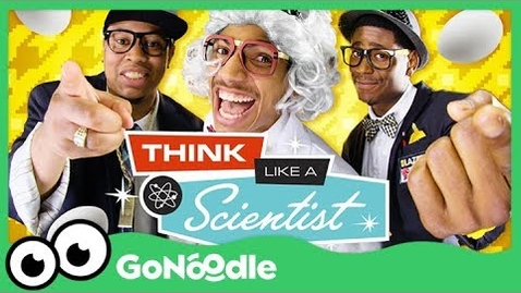 Thumbnail for entry Think Like A Scientist - Blazer Fresh | The Scientific Method | GoNoodle