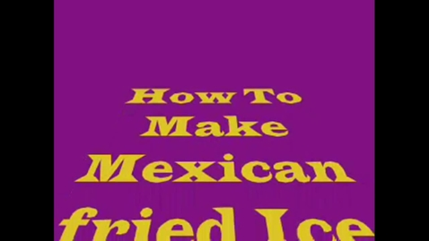 Thumbnail for entry Mexican Ice Cream