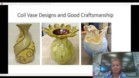 Thumbnail for entry Coil Vase designs and craftsmanship video