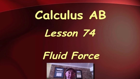 Thumbnail for entry Lynch - AP Calculus AB: Lesson 74