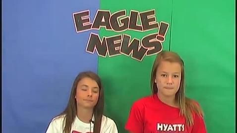 Thumbnail for entry Eagle News Episode 15 September 8th, 2014