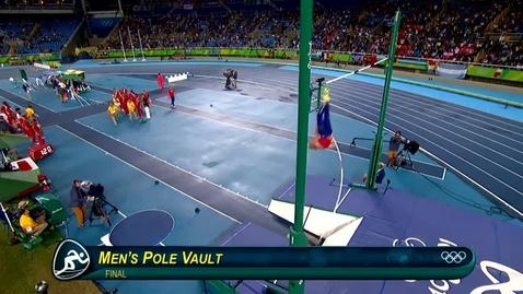 Thumbnail for entry Olympic Pole Vault Record
