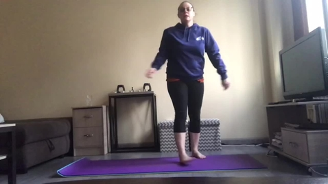 Thumbnail for entry Ms. Kristy's Exercise Video 1