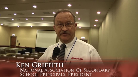 Thumbnail for entry NASSP President Ken Griffith at the 2012 LEAD Conference