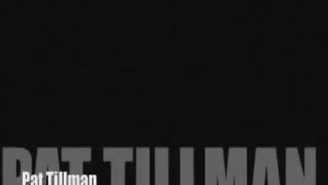 Thumbnail for entry Pat Tillman Story (Pat Tillman Foundation)