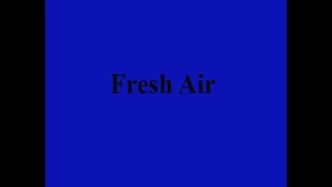 Thumbnail for entry Fresh Air