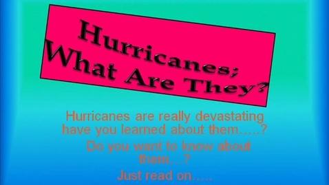 Thumbnail for entry Hurricanes: Karla Lemus