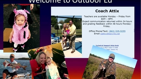 Thumbnail for entry Welcome to Outdoor Education
