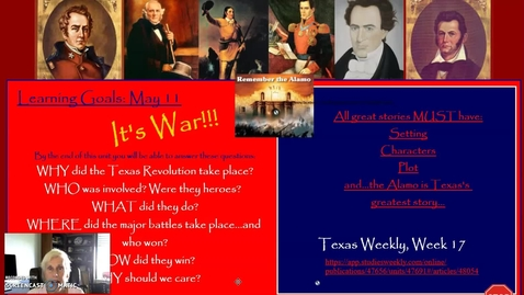 Thumbnail for entry Texas Revolution: The Alamo, Part One
