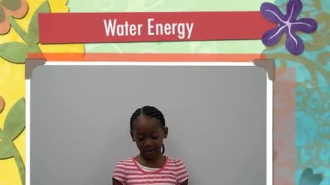 Thumbnail for entry Water Energy
