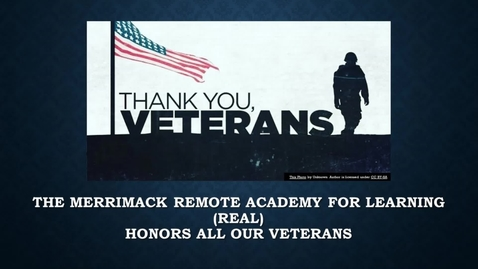 Thumbnail for entry REAL Veterans Day Video-2.mp4