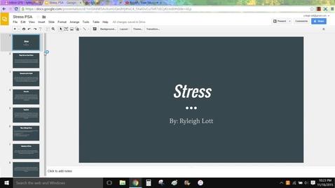 Thumbnail for entry Stress PSA 1st hour