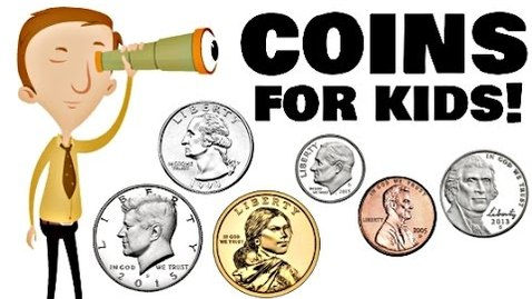 Thumbnail for entry Coins for Kids | Math Learning Video