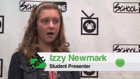 Thumbnail for entry Izzy & Kamal Student Presenters at METC 2012