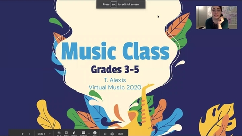 Thumbnail for entry Grades 3-5 - Lesson #2