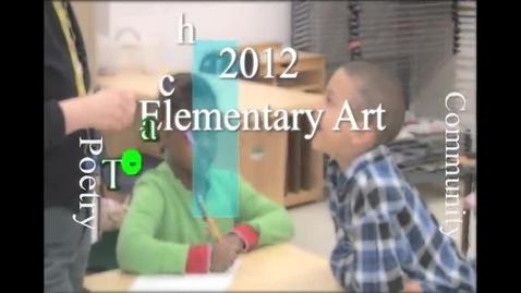 Thumbnail for entry SLPS 2012 Elementary Art Teacher of the Year