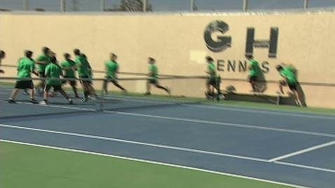 Thumbnail for entry GHCHS Boys Tennis vs Taft HS 3-22-12