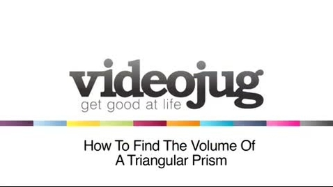 Thumbnail for entry Volume of Triangular Prisms